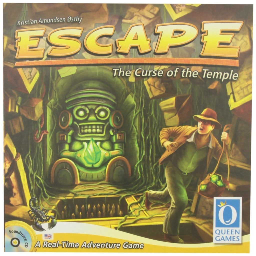 Fromt of Box for Escape - The Curse of the Temple
