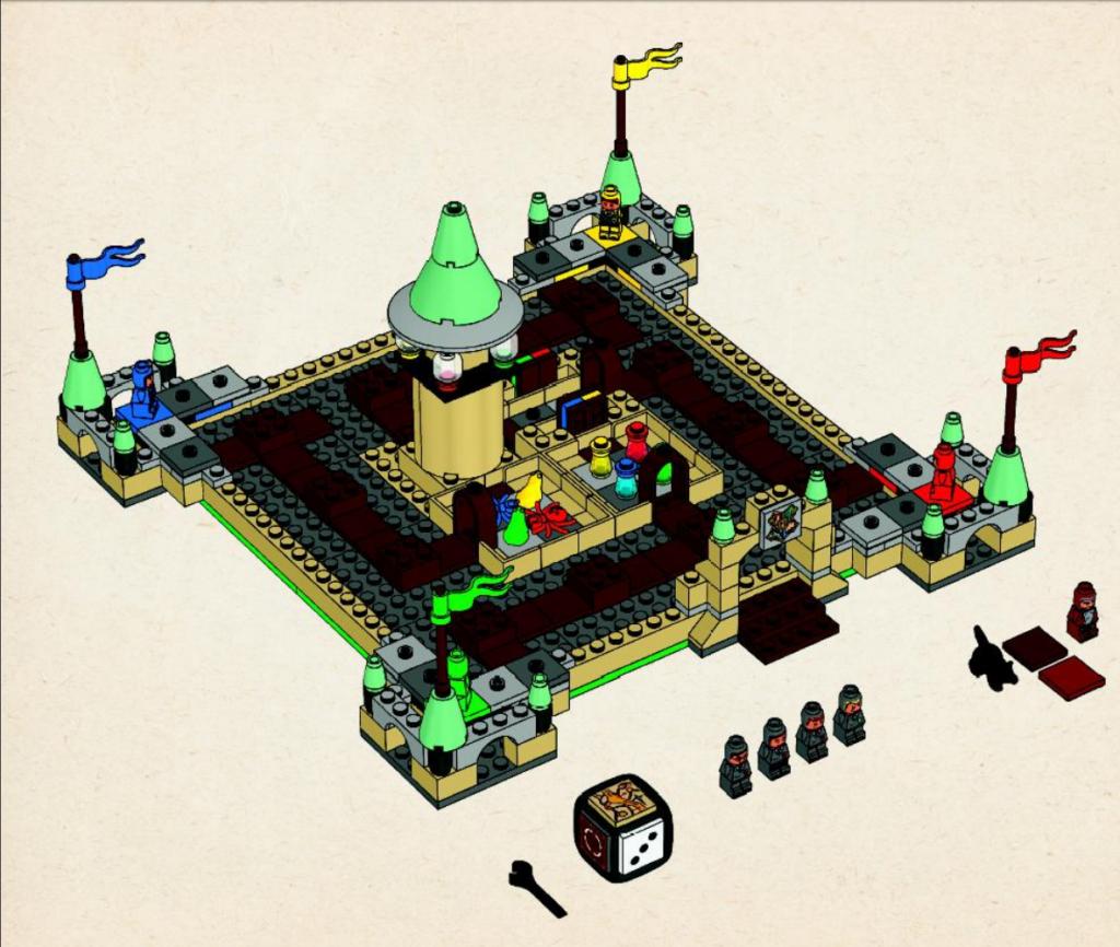 Lego Harry Hogwarts Completed Image